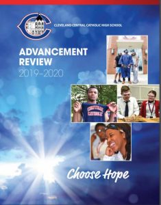 advancement review 2019-2020 cover